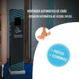 Totem dispenser automático de álcool em gel Automagel Slim