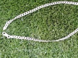 Corrente prata 925 Elo Grumet 50cm