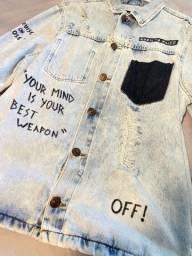 Título do anúncio: Jaqueta Jeans Destroyed
