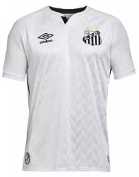 Camisa do Santos personalizada