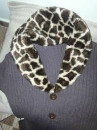Blusa de frio da moda sobretudo