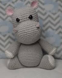 Título do anúncio: Hipopótamo amigurumi