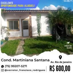 Excelente Oportunidade Próximo ao Centro-Cond. Martiniana Santana-Av. Rio de Janeiro.