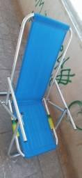 Cadeira de praia de aluminio