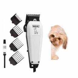 Máquina De Tosa 110v/ Dog Grooming Branco Wahl Original 4 Pentes - Loja Natan Abreu