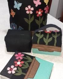 Kit bolsa patchwork