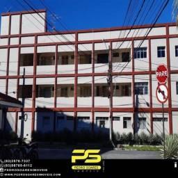 Apartamento com 1 dormitório para alugar, 60 m² por R$ 1.400,00/mês - Tambaú - João Pessoa