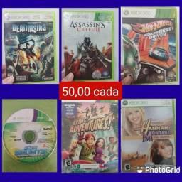 Jogos para Xbox *valores nas fotos
