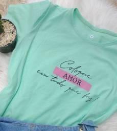 3 t-shirts por apenas R$100,00