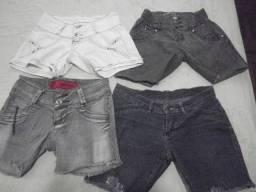 Shorts Jeans - Tamanhos 36 e 38