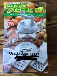 Kit de cozinha: cortador, ralador, fatiador