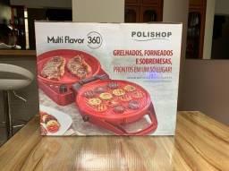 Grelhados, forneados e sobremesas Elétrica Multi Flavor 360 - Polishop - NOVO