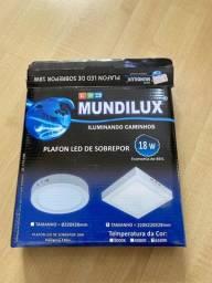 Luminárias de LED - 7 unidades