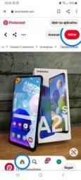 Samsung galaxy A21s novo na caixa lacrado!