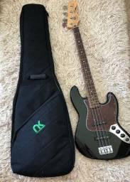 Baixo Fender Jazz Bass Std 4 Cordas Mexicano. Barbada !
