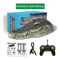 Cabeça De Jacaré / Crocodilo De Controle Remoto - Pegadinhas