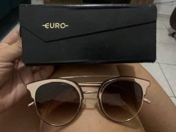 Óculos EURO gatinho rosé
