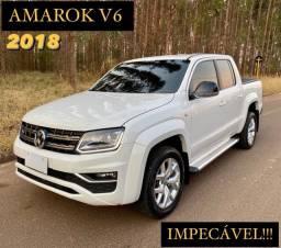 AMAROK V6 3.0 2018 APENAS 80.000 KM (aceito trocas)