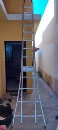 Escada Extensiva Aluev 3 em 1 - 120kg - Nunca Usada