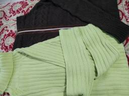 Conjunto  trio blusas de frio 38/42