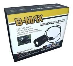 Lanterna De Cabeça E Farol Para Bike B-max Swat Ultra Forte - Loja Natan Abreu