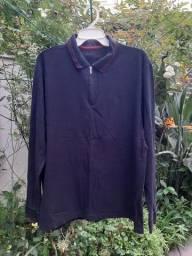 Camisa Polo Manga Longa