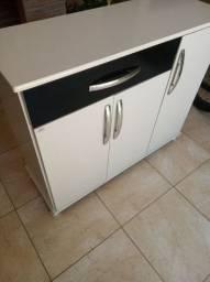Bancada de cozinha/armário em ótimo estado, usada pouco tempo