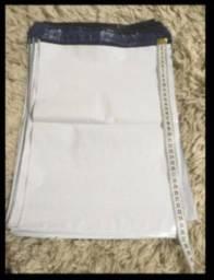 Lote 60 sacos plástico com lacre 36cm x 26cm para enviar encomendas pelos correios