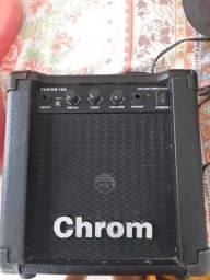 Caixa amplificadora chrom