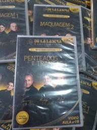 Coleção de dvd curso de cabeleireiro
