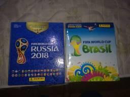 Álbuns copa 2018 e 2014 (COMPLETOS)
