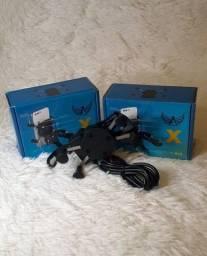 Suporte de celular para moto com conexão para carregador