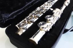 Flauta Quasar Prateada (Nova)