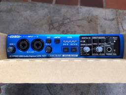 Interface de captura de áudio - ua 101 Edirol Roland (Na caixa) - somente venda