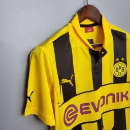 Título do anúncio: Borussia Dortmund 12/13 Final Champions League Frete Grátis