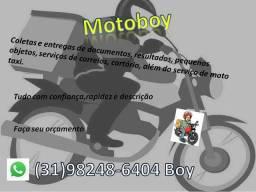 Ofereço serviço de Motoboy