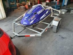 Carretinha para jet ski spark, super jet e moto