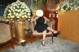 vestido de festa preto. Curto