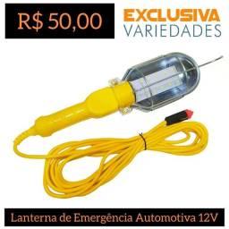 Lanterna De Emergência Automotiva 12V