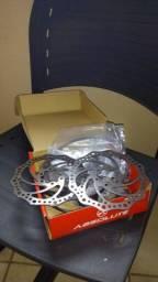 Freios hidraulicos e freios mecanicos a disco
