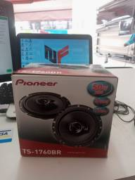 Alto falantes pioneer 6 pol - 50w rms de potencia #nf vendas