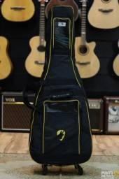 Bag mochila Super Luxo acolchoada violão