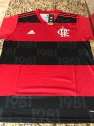 Camisa Flamengo 2021 - Tailandesa, Idêntica.