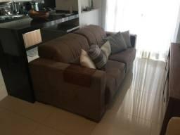 Sofa 3 lugares Marrom 2 metros por 1 metro em perfeito estado