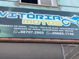Oficina mecânica e pintura Profissional para motos - cartão de crédito