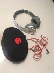 Fone Beats by Dr. Dre Branco e vermelho