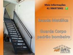 Escadas Metálicas, para depósito, lojas , casa, comercio.