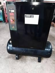Compressor metalplan 15 hp com secador e filtros .