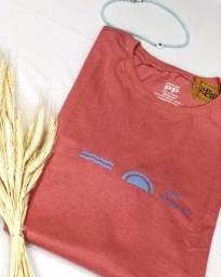 T shirt feminina T-PP forma grande