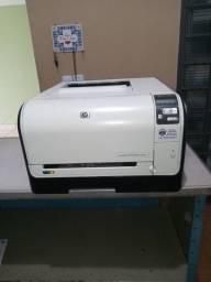 Impressora HP colorida CP 1525DW com Wi-fi